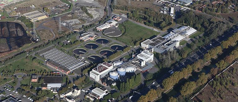 Une augmentation de la présence de la Covid-19 a été constatée dans les eaux usées traitées par la station d'épuration de Ginestous, à Toulouse @ToulouseMétropole