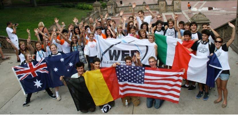 WEP accueil lycéens étrangers
