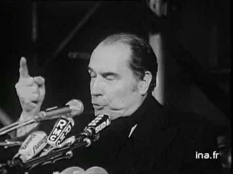 C'était un 3 mai…1974 : François Mitterrand achevait sa campagne présidentielle à Toulouse