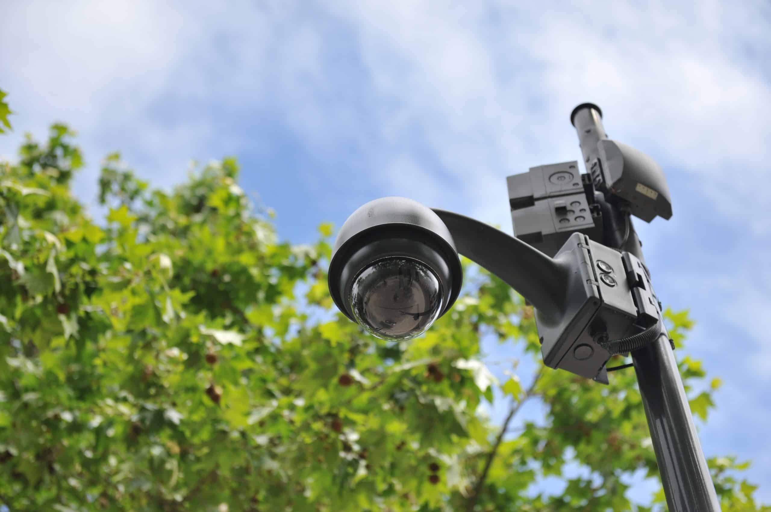 Caméra surveillance protection