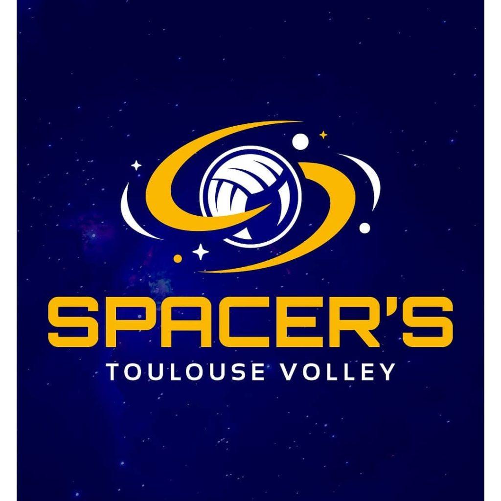 Nouveau logo des Spacer's Toulouse volley.