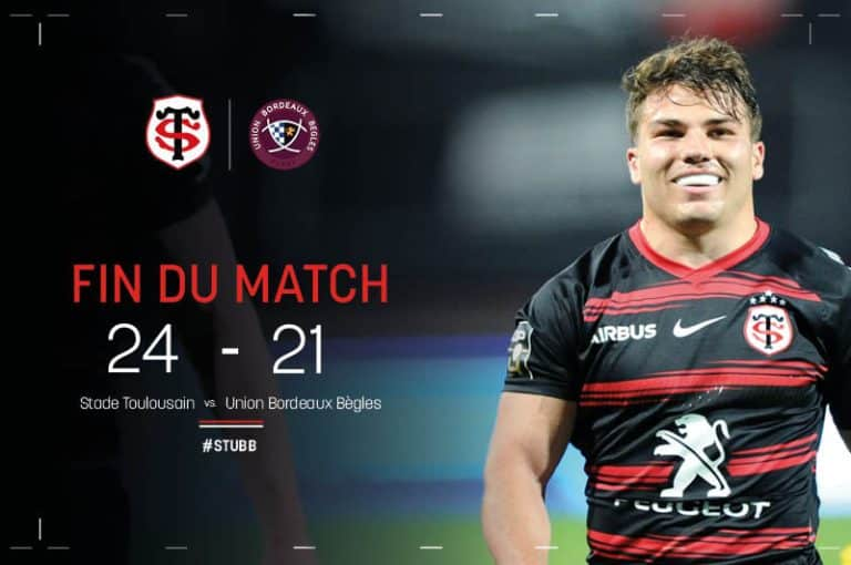 Le Stade Toulousain en finale de Top 14