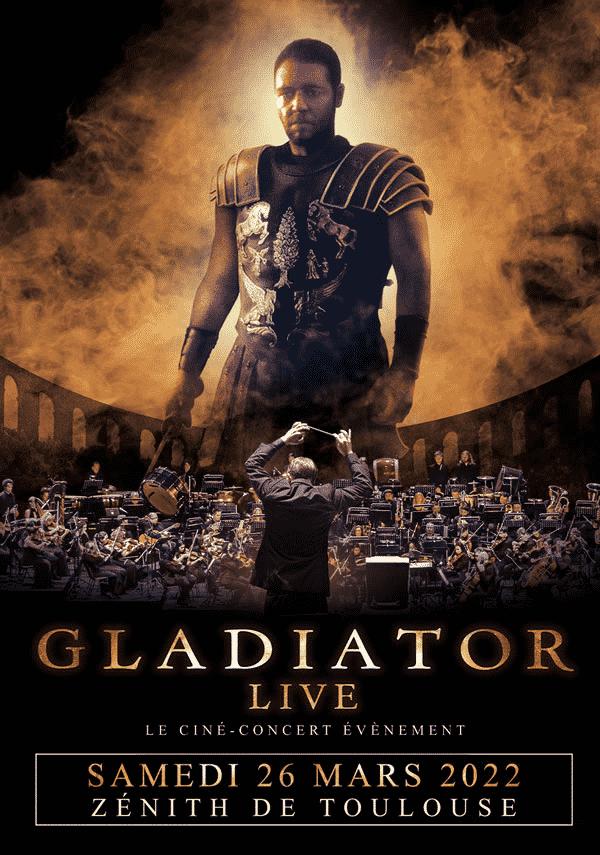 Gladiator live au Zénith de Toulouse