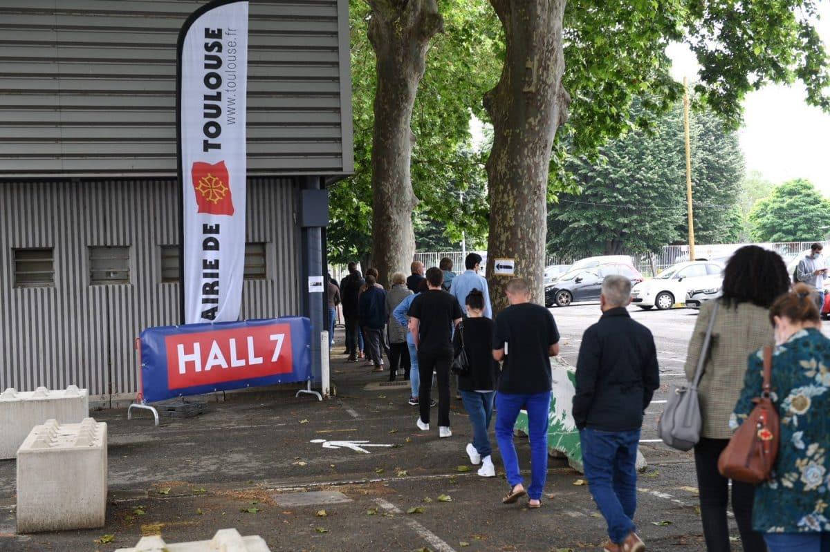 Pour la première fois, tous les créneaux de vaccination disponibles au vaccinodrome de Toulouse n'ont pas trouvé preneurs @MairieDeToulouse