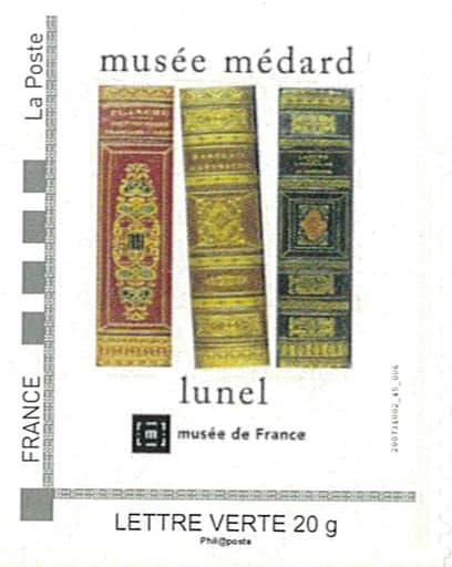 Dans l'Hérault, l'amicale philatélique de Lunel présente une collection de timbres à l'effigie du musée Médard