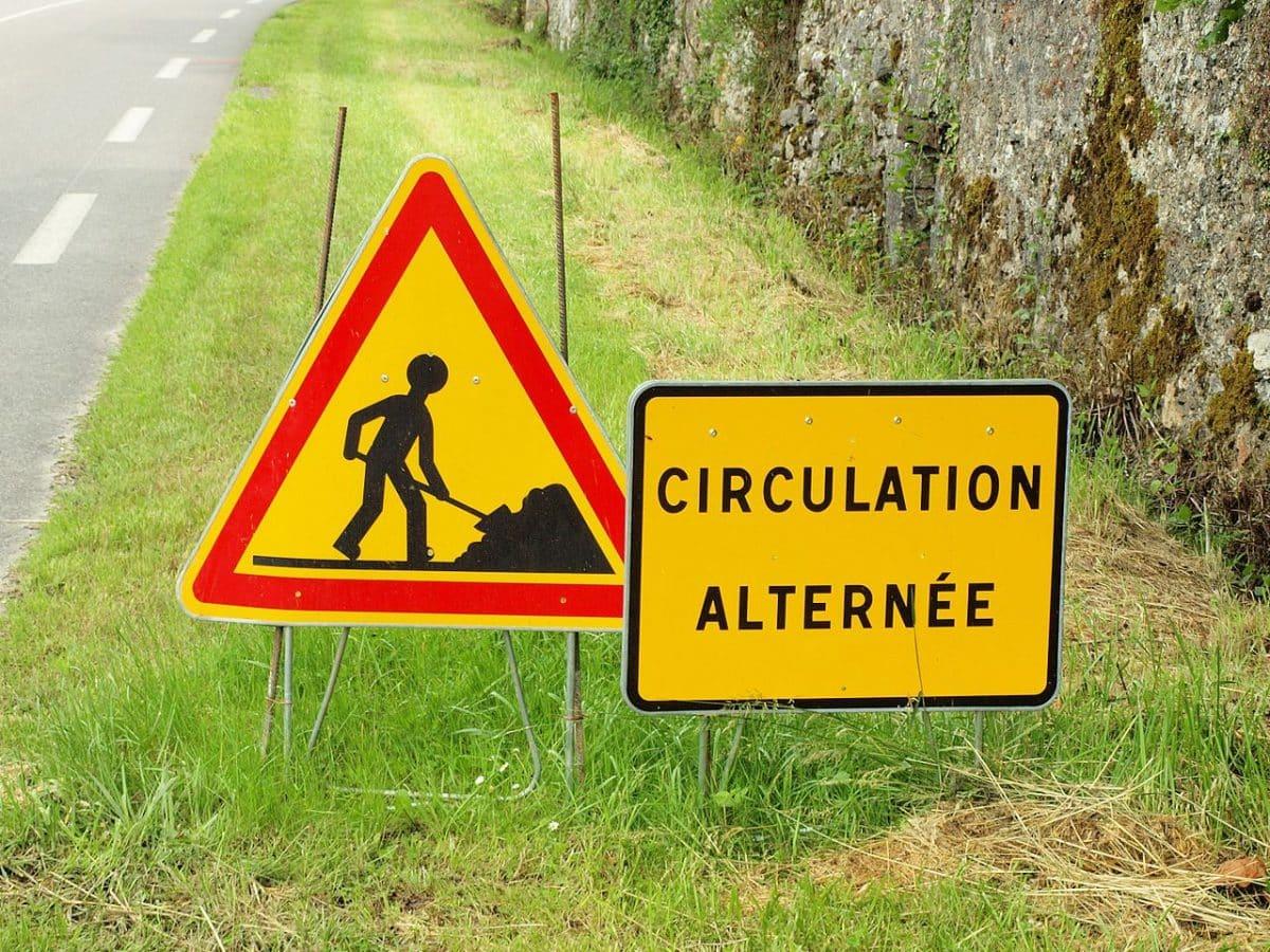À partir de ce 30 août et pendant 2 mois, il y aura des restrictions de circulation entre La Bastide-de-Bousignac et Mirepoix, en Ariège @François Goglins