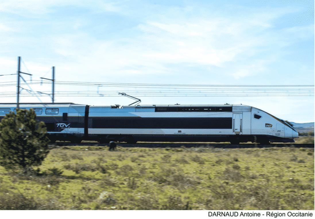 Occitanie fracture territoire train transports LGV