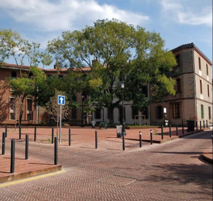 La place Arago, à Toulouse, est coupée à la circulation jusqu'au 11 juillet prochain @GoogleMap