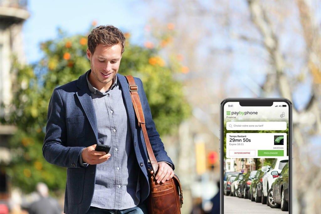 La ville de Perpignan proposera, le 12 juillet, l'application Paybyphone pour payer son stationnement via un smartphone @Paybyphone