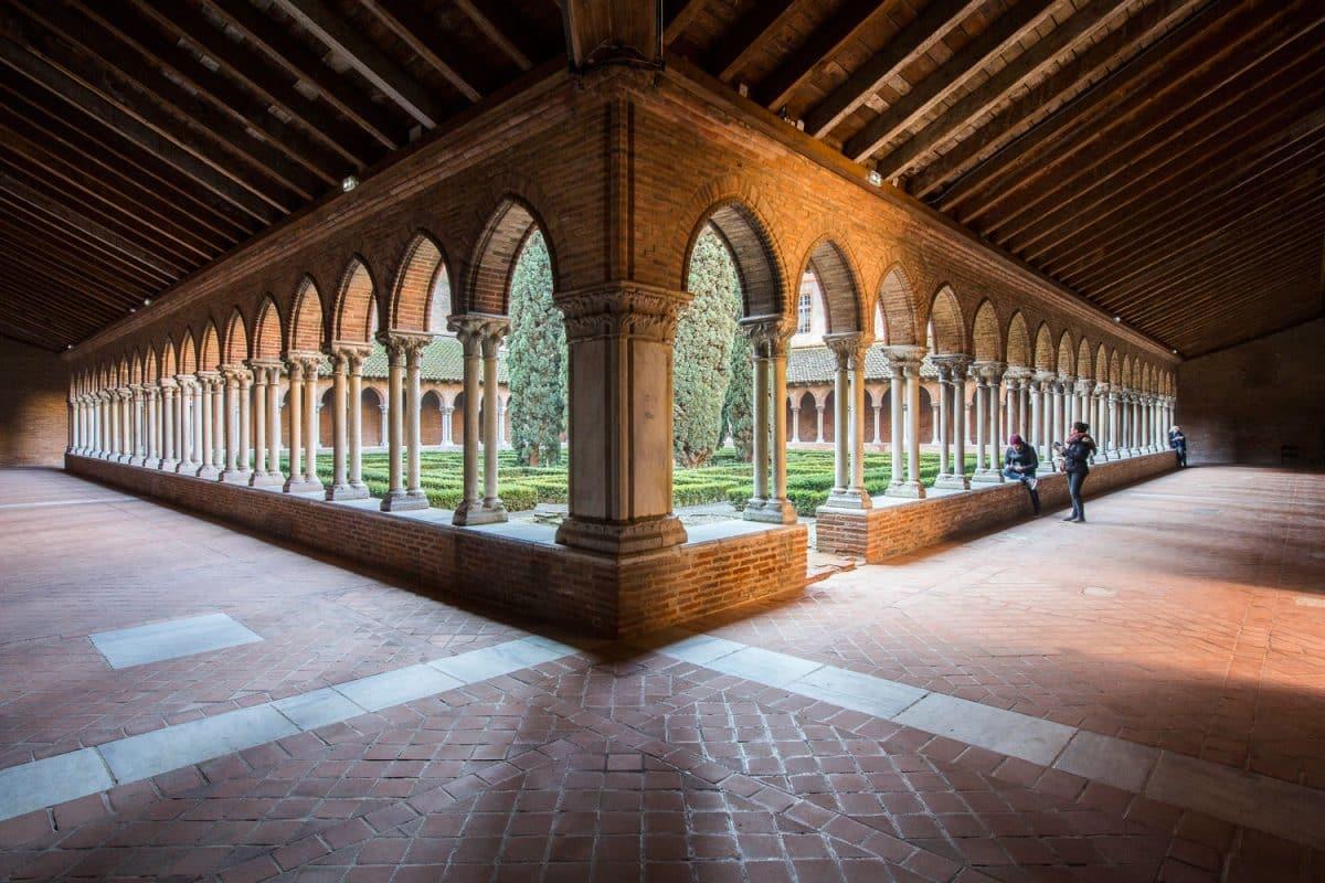 cloître du couvent des Jacobins Toulouse