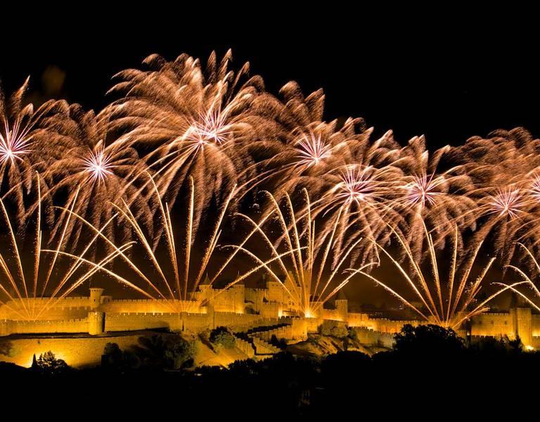 Le feu d'artifice de Carcassonne n'aura pas lieu cette année @OfficeDuTourismeDeCarcassonne