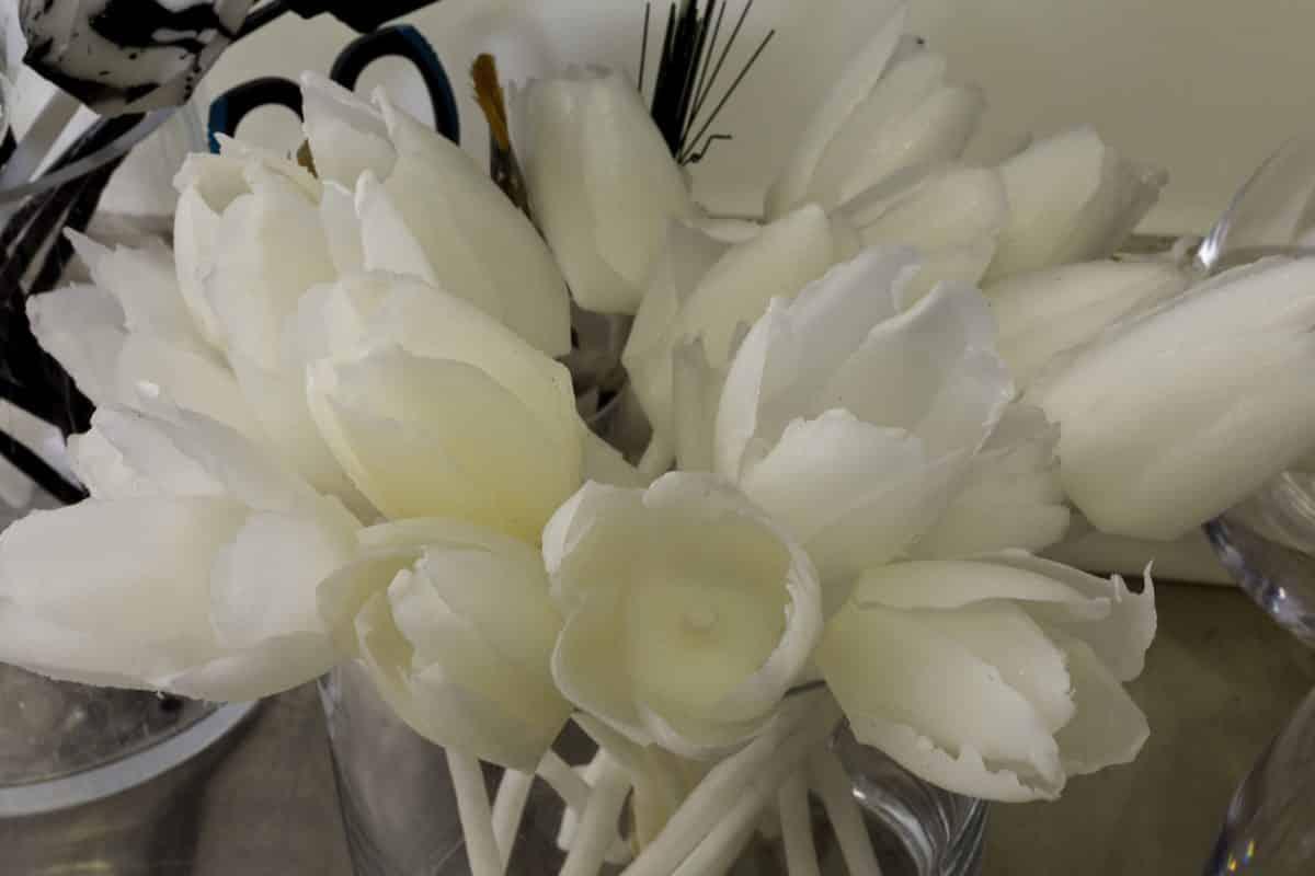 sculpture-fleur-cire-mona-oren-toulouse