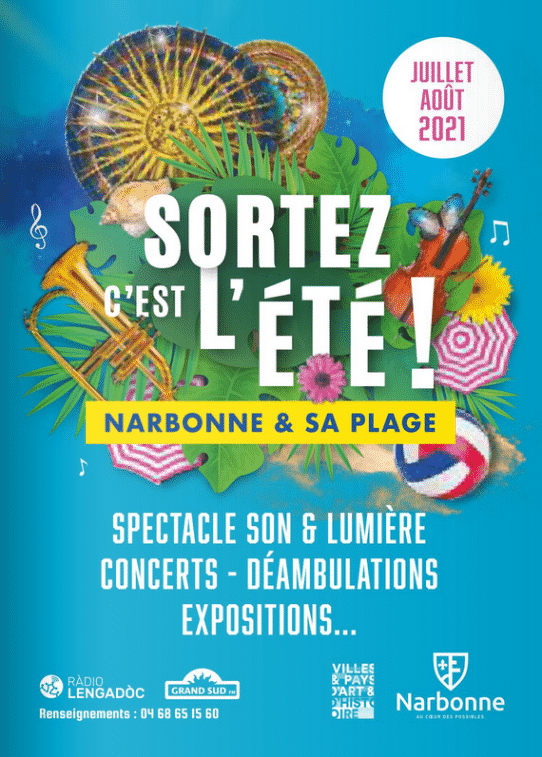 Narbonne plage animations estivales
