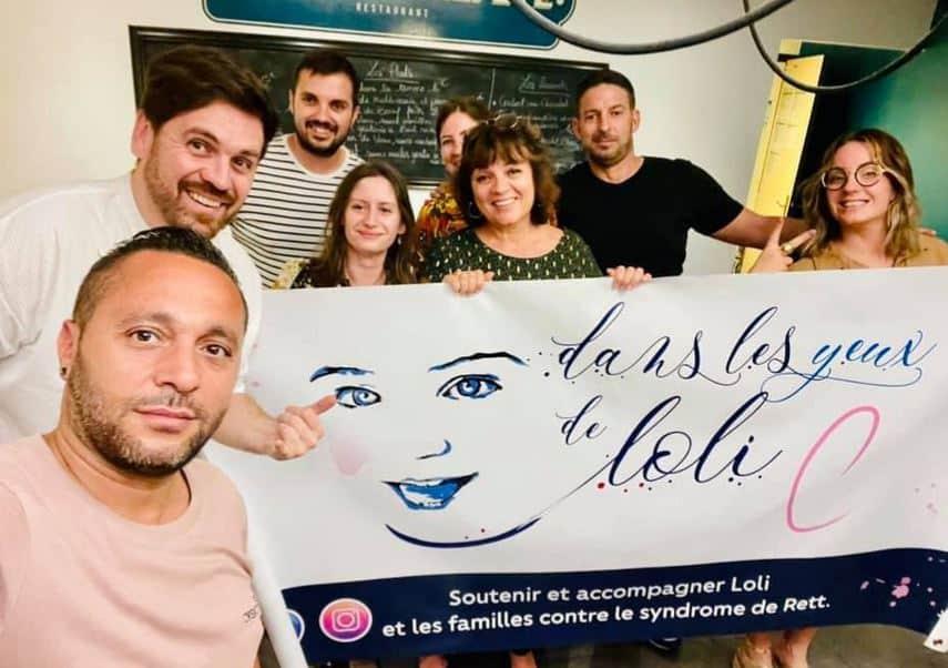 Né à Perpignan, Julien Noguera va traverser les Pyrénées pour lever des fonds pour Loli, sa petite fille gravement malade