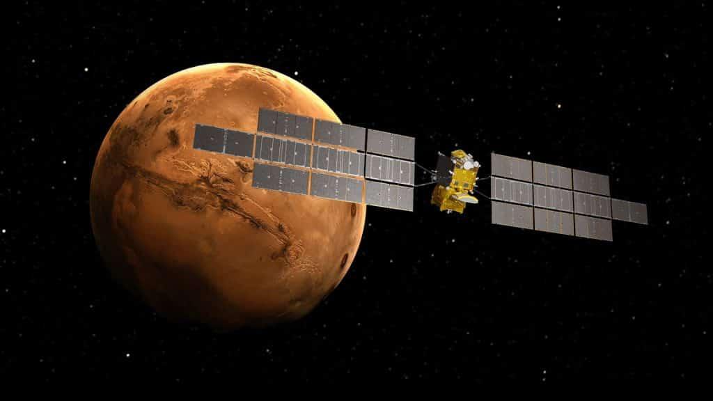 Toulouse Airbus a franchi une étape importante dans son projet de mission vers Mars Earth Return Orbiter @Airbus
