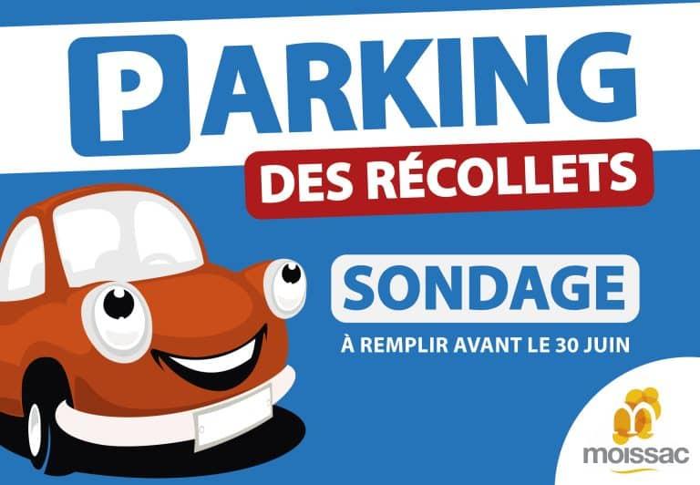 La mairie de Moissac lance une consultation sur le parking des Récollets