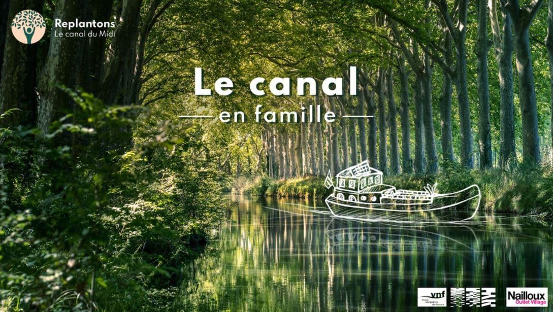 Canal en famille appli aventure canal du midi