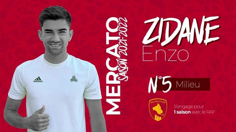 Ligue 2 : Enzo Zidane signe au Rodez Aveyron Football
