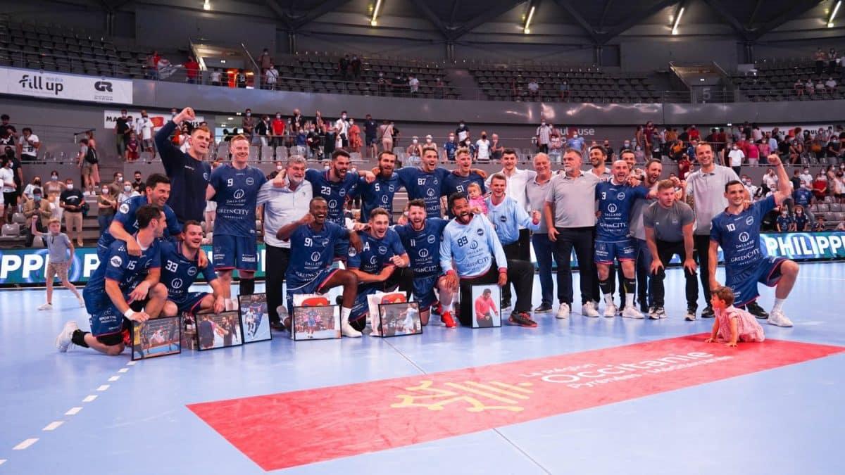 Le Fenix Toulouse Handball s'est qualifié pour la coupe d'Europe. ©Fenix Toulouse Handball