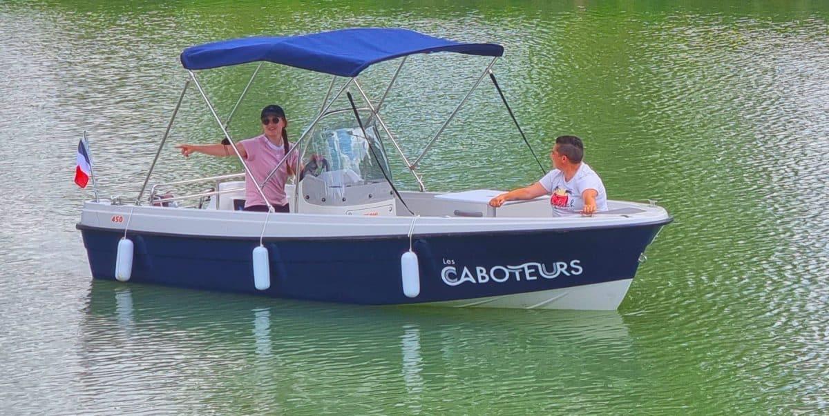 Caboteurs bateau électrique