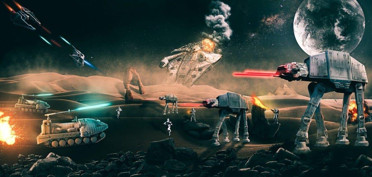 Une conférence sur la saga Star Wars aura lieu jeudi à pierresvives. Licence Pixabay