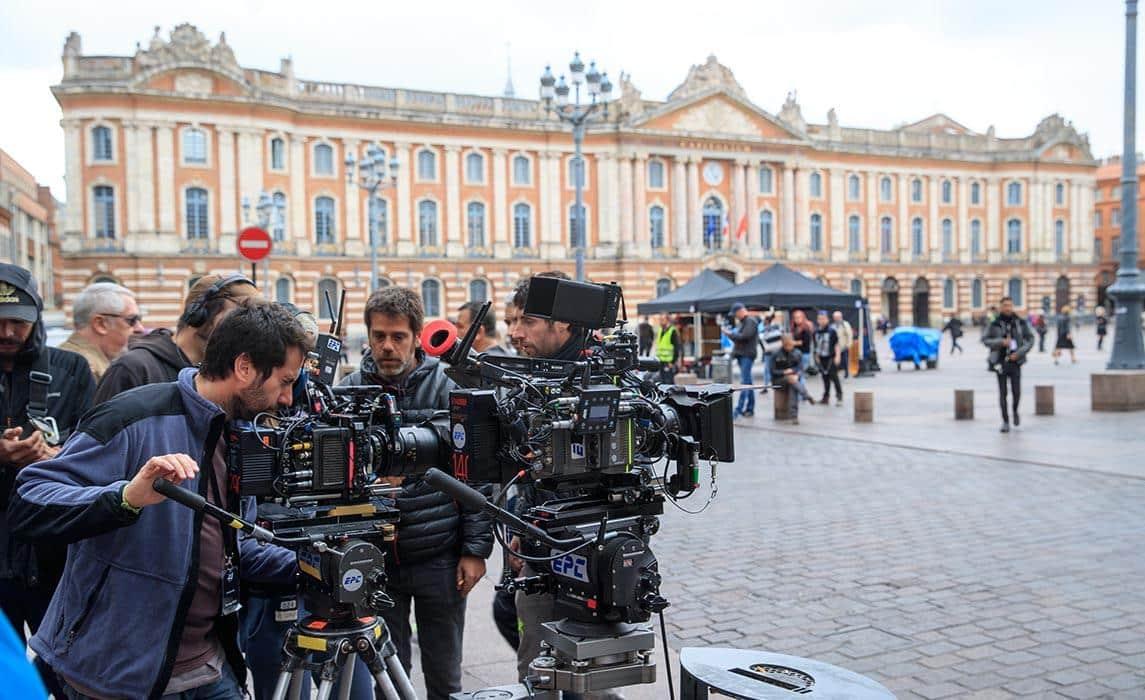 toulouse_tournage_place_capitole © Agence d'attractivité Toulouse