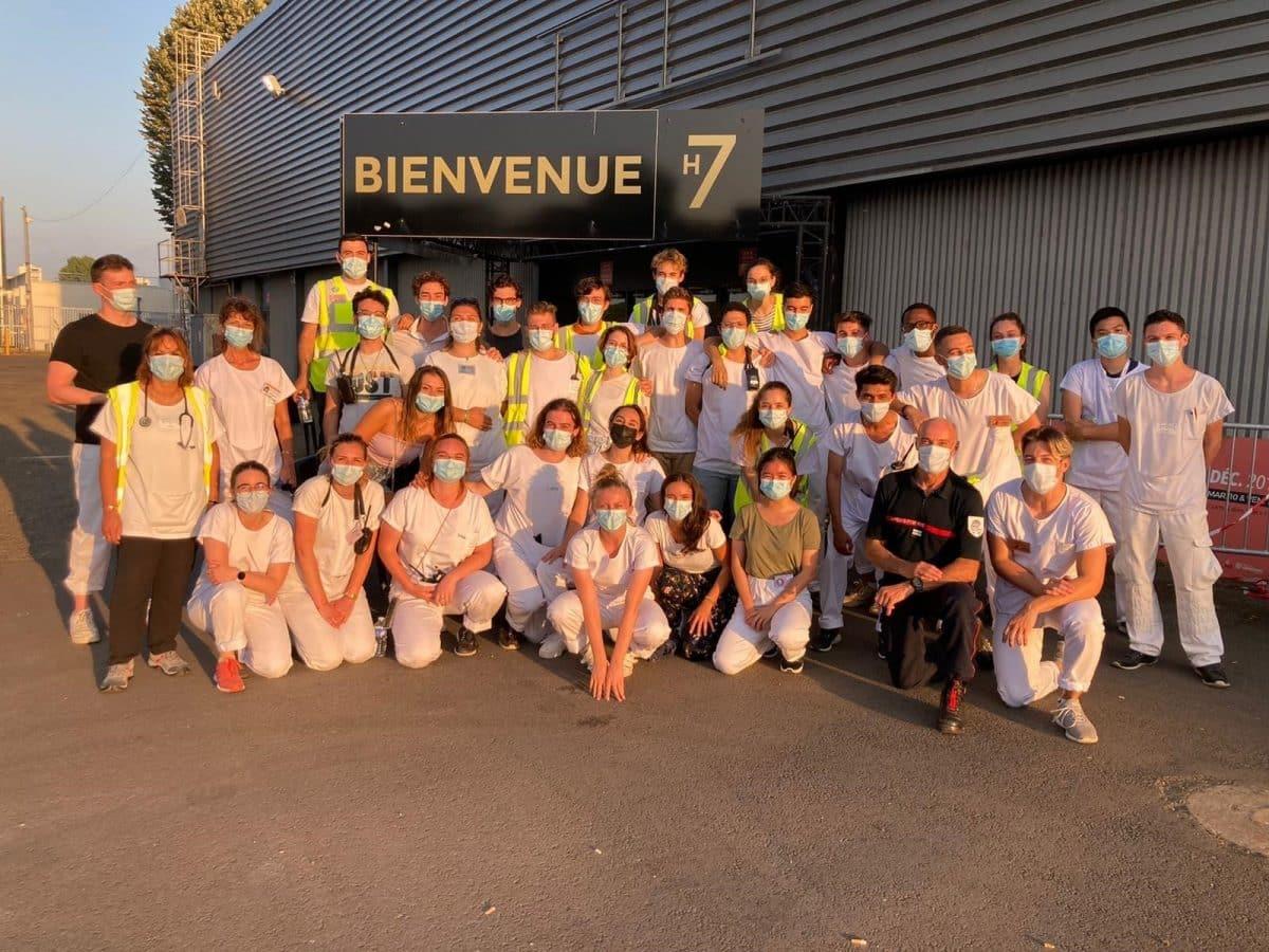 20 000 injections ce week-end au vaccinodrome de Toulouse, le record de France @CHUdeToulouse