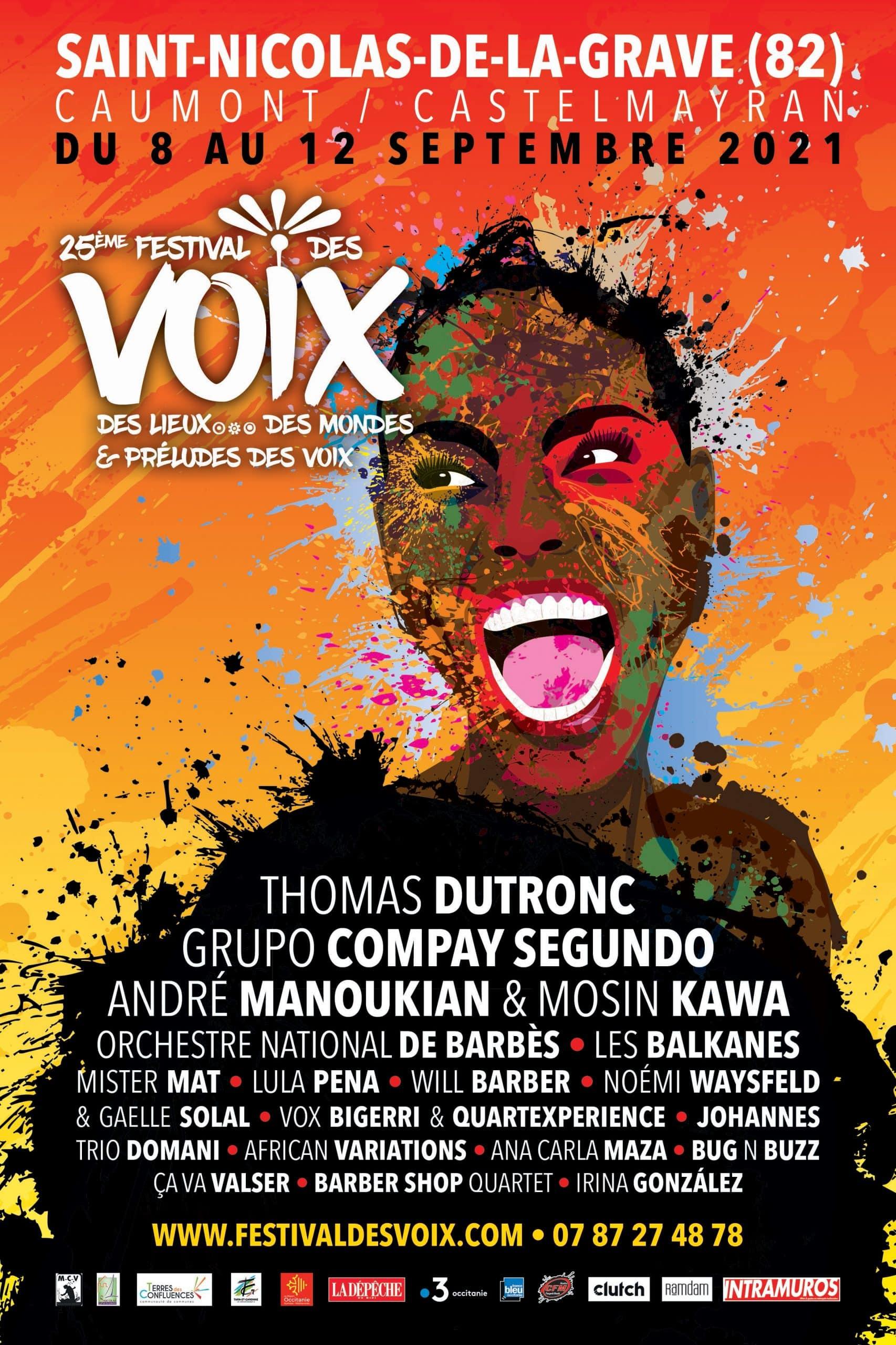 Festival des voix, des lieux, des mondes à Saint-Nicolas-de-la-Grave septembre 2021