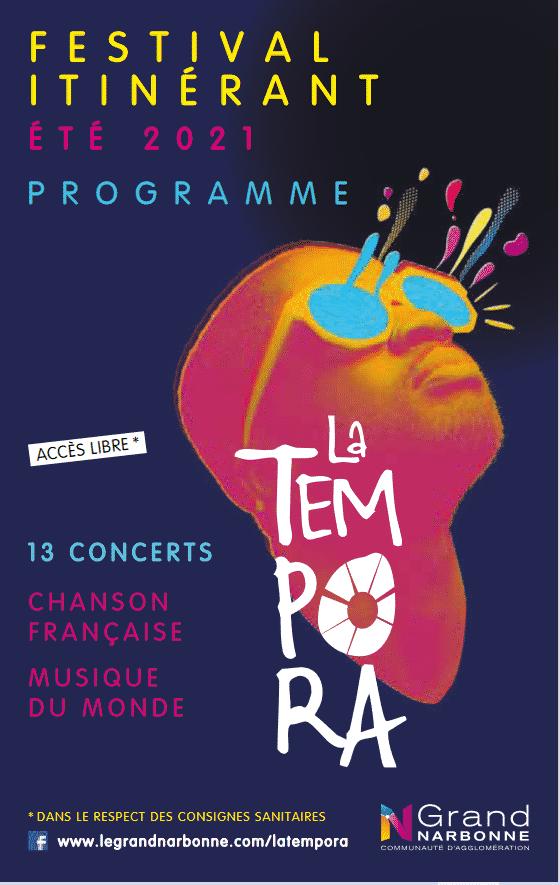 Affiche festival Tempora 2021