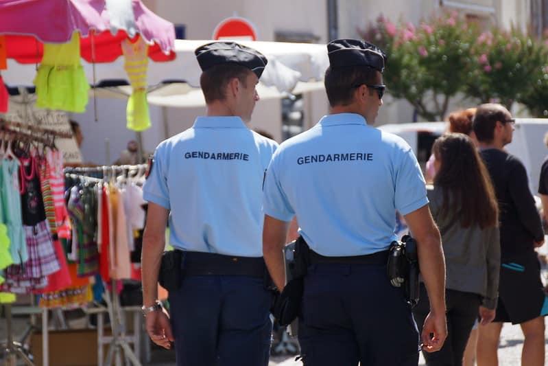 Afin d'assurer la sécurité des nombreux touristes qui se rendront dans le Gard cet été, 68 gendarmes viennent en renfort des forces de l'ordre du département @Ludovic Sarrazin