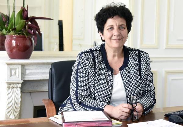 Frédérique Vidal, ministre de l'Enseignement supérieur, de la Recherche et de l'Innovation est en déplacement dans l'Aveyron, ce jeudi 15 juillet @Gouv