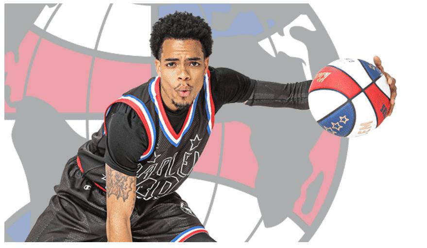 Harlem Globetrotters basket