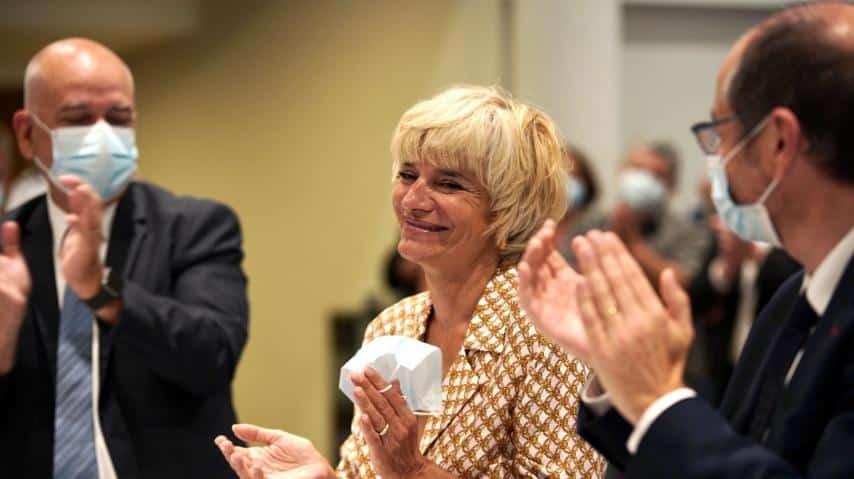 Hélène Sandragné a été réélue, ce jeudi 1er juillet, présidente du Conseil départemental de l'Aude, par les conseillers élus le 27 juin dernier @ Idriss Bigou-Gilles - Département de l'Aude