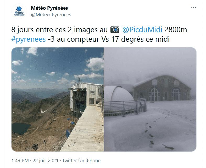 Pic du Midi météo