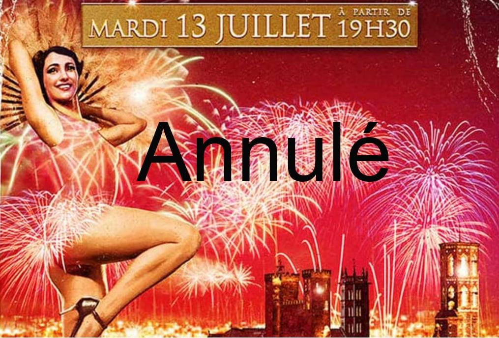 annulation festivités feu artifice Pamiers