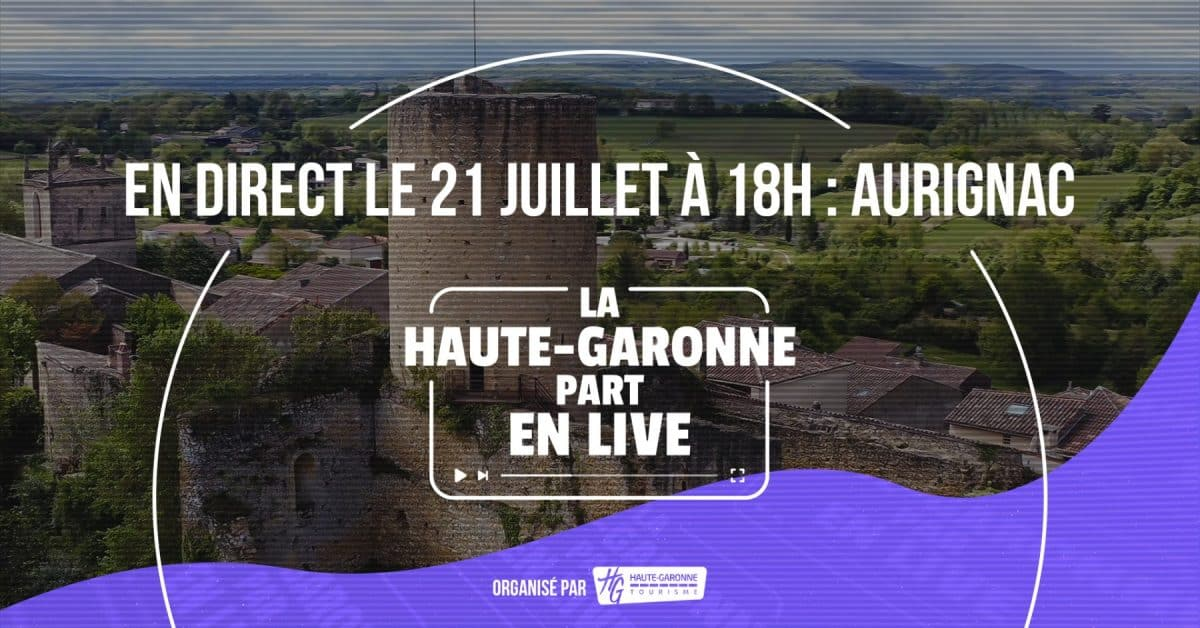 Haute-Garonne part en live à Aurignac