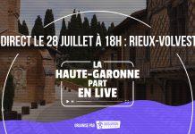 Haute-Garonne part en live à RIeux-Volvestre