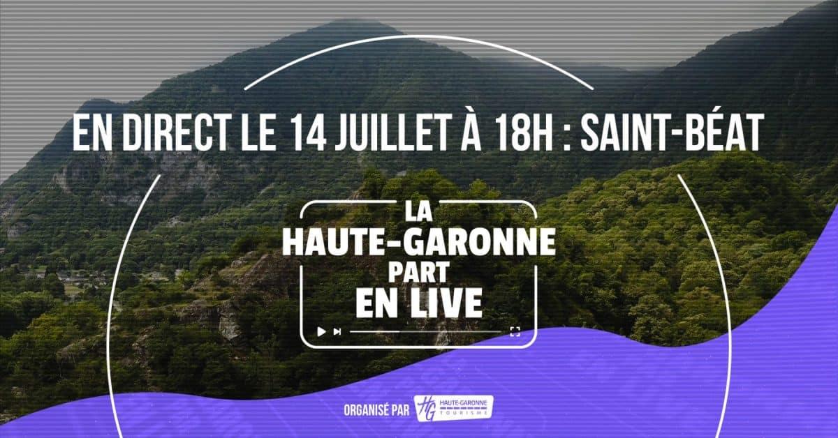 Haute-Garonne part en live à Saint Béat