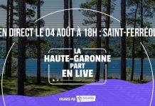 Haute-Garonne part en live à Saint-Ferreol