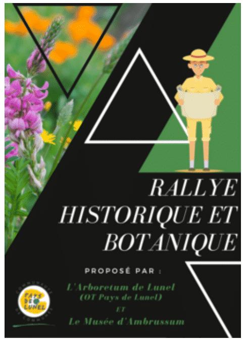 Rallye historique et botanique de Lunel