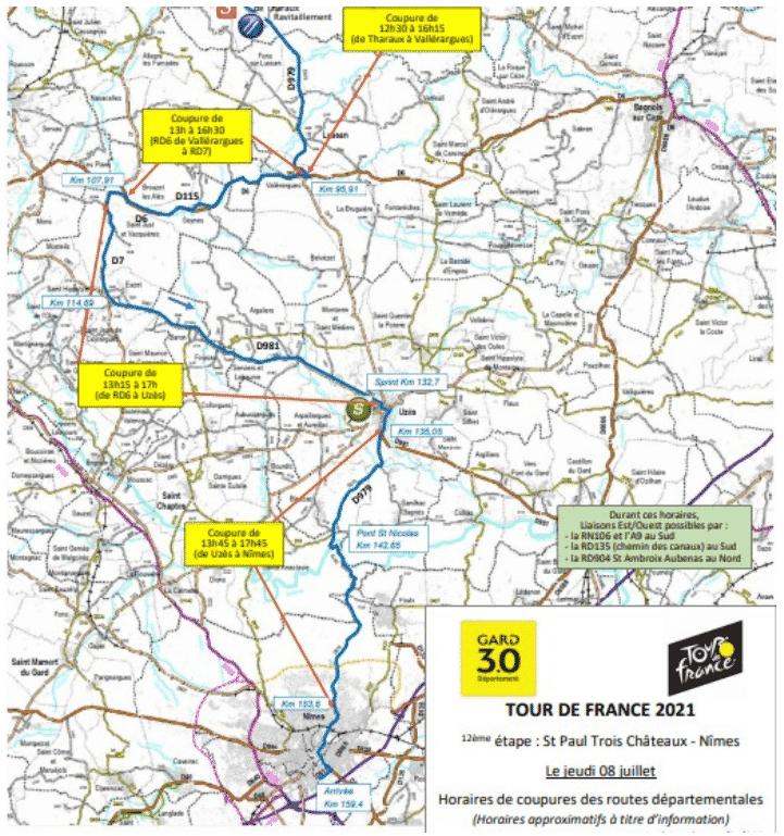 12e étape du Tour de France 2021