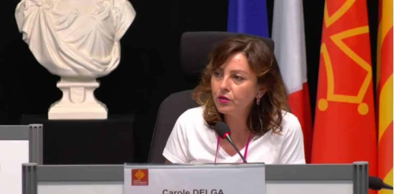 carole delga augemention conseil régional occitanie