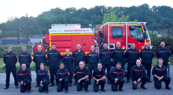 Pompiers Lot Aude