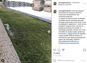 #SaccageToulouse : Une page instagram pour dénoncer l'inaction de la mairie de la ville