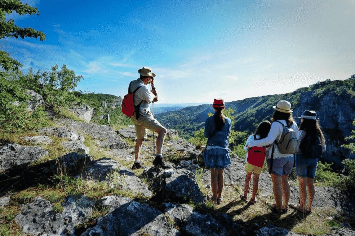 excursionnisme tourisme Lot