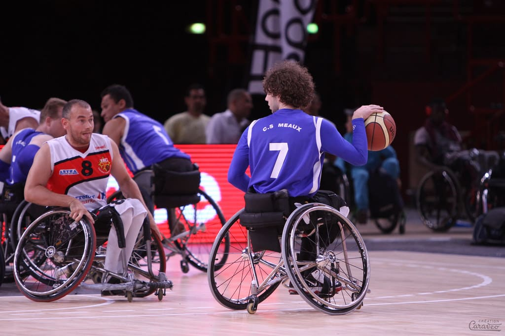 basket handisport Occitnaie