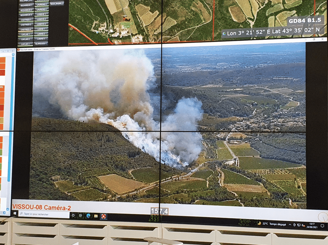 pompiers feu Hérault sdis