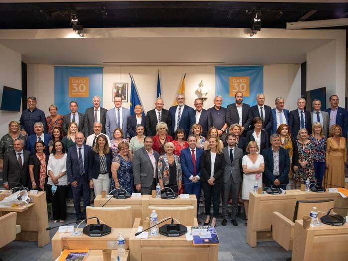 Le Conseil départemental du Gard publie la composition de son nouvel exécutif @CDGard