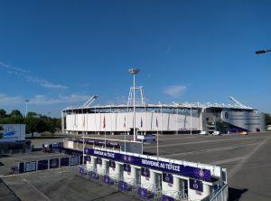 """Le TFC reçoit Grenoble au Stadium de Toulouse pour la 8e journée de Ligue 2. Pour l'entraîneur, c'est une équipe qui """"monte en puissance"""". - Crédit : Bryan Faham"""