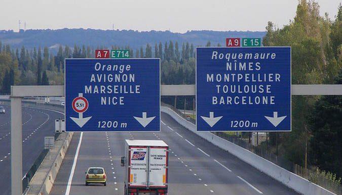 Barcelone autoroute